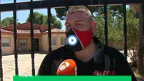 Artículo en Antena 3 sobre Fuera Okupas